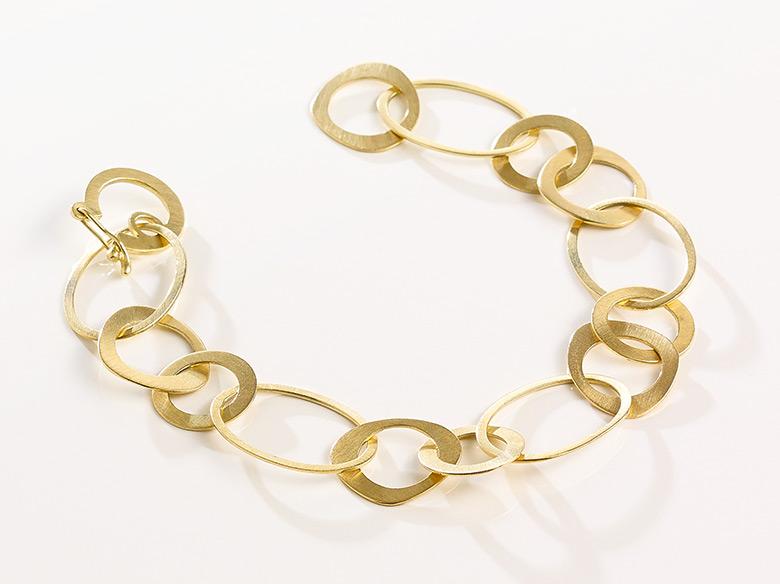 Ösenarmband gold